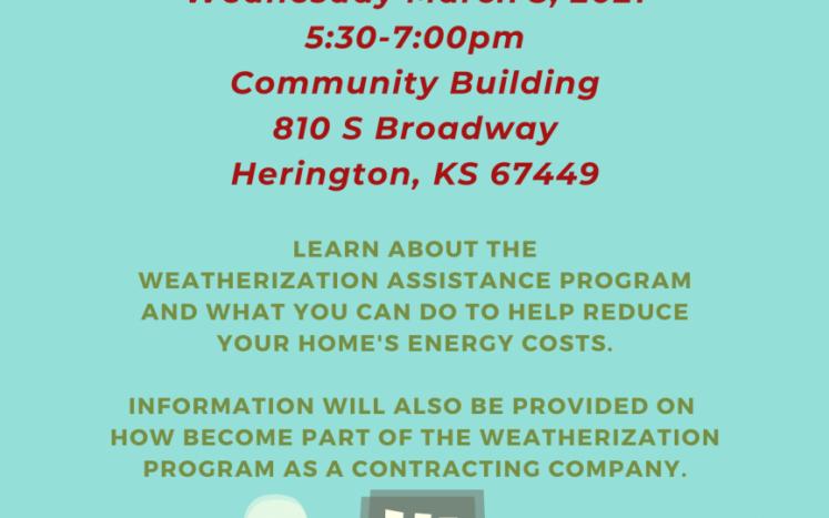 Weatherization flyer